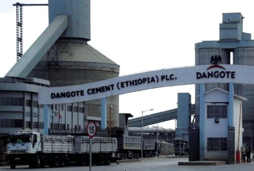 dangote cement plant ethiopia manager killed