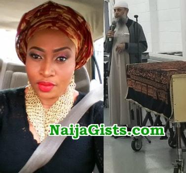 aisha abimbola died a christian buried muslim