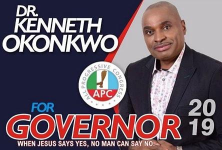 kenneth okonkwo quit acting politics