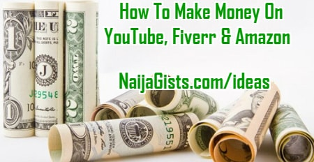 how to make money fiverr amazon youtube