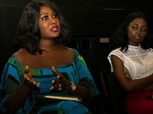 mercy johnson movie premiere