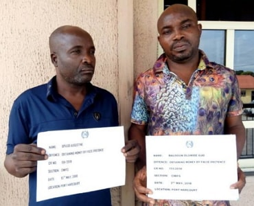 money medicine scammers arrested port harcourt
