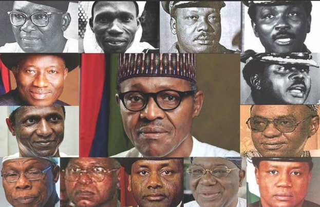 nigerian past present presidents 1960 till date