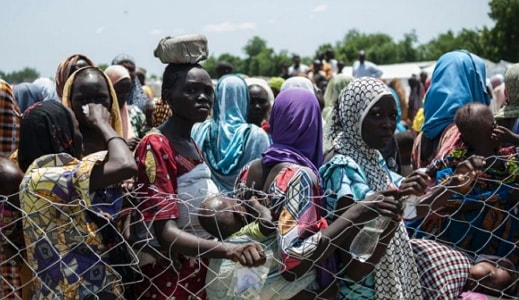 nigerian soldiers raping women girls idp camps borno state