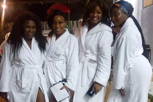 nollywood spa robes
