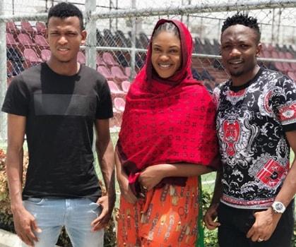 omoni oboli meets ahmed musa kano