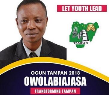 owolabi ajasa governor ogun state