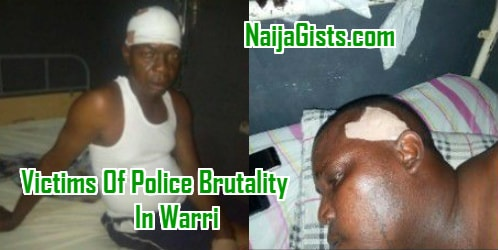 police dpo shoot innocent men warri delta state