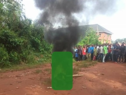 vio officer burnt to death niger state