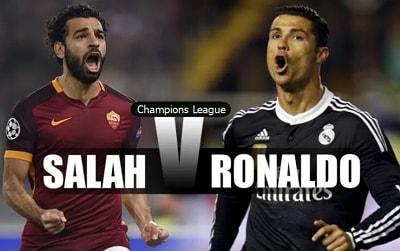 salah vs ronaldo