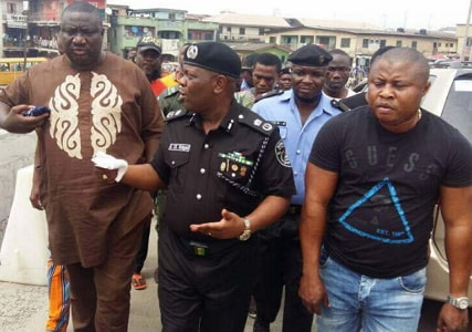 traffic robbers operating oshodi lagos arrested