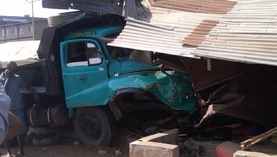 truck crushes boys abraka delta state