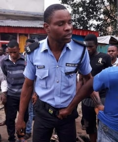 woman slapped police officer abuja