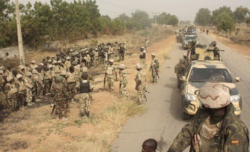 5 soldiers killed attack boko haram