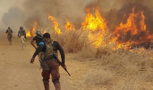 6 boko haram suicide bombers attack borno village