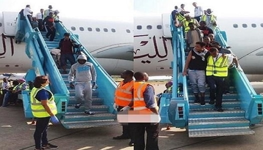 9 pregnant women nigerian return libya
