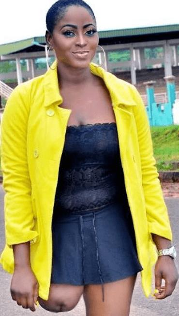 nollywood actress amputee