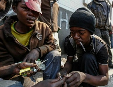 african youths at risk