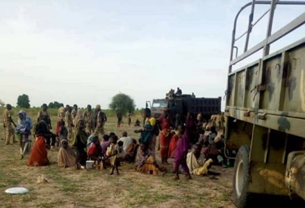boko haram sex slaves rescued