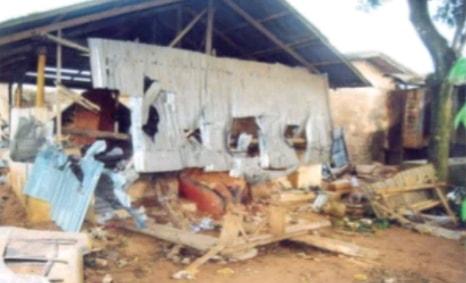 catholic priest destroys shrines anambra