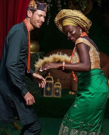 Chidiogo Akunyili marries white