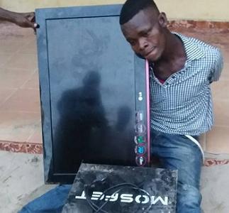 church thief arrested