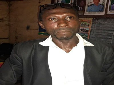 fake lawyer arrested ojo magistrate court