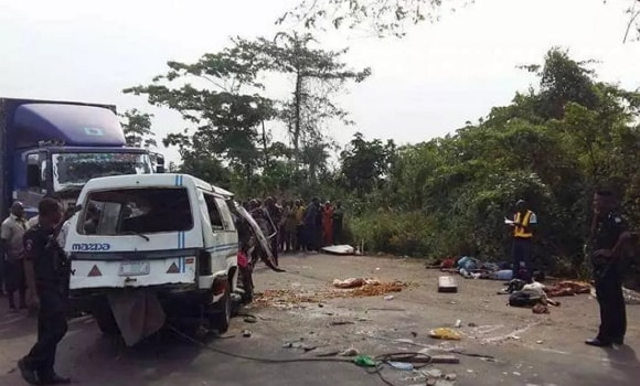 family of 7 dies fatal accident enugu