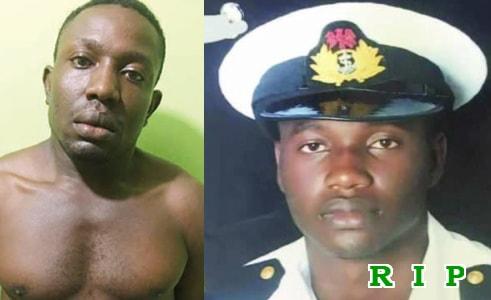 house boy murders naval officer