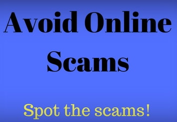 how to identify a scam website