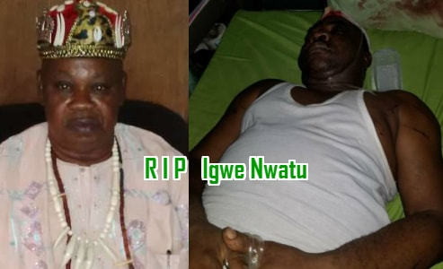 igwe killed by subjects enugu