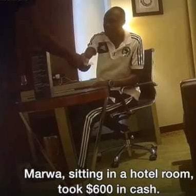 kenyan referee collect bribe