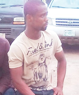 man drinks human blood money ritual oregun lagos