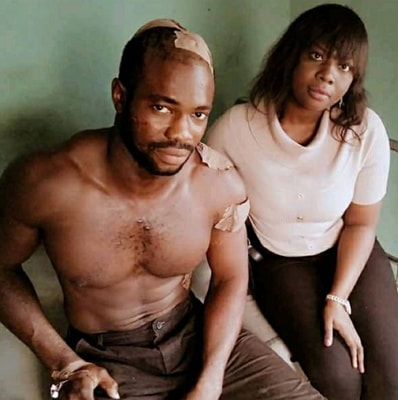man attacked cultists rescue lady