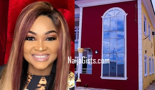 mercy aigbe buys house mortgage lagos
