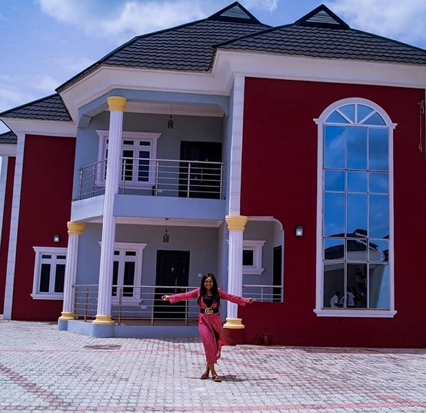 mercy aigbe N200million mansion lagos