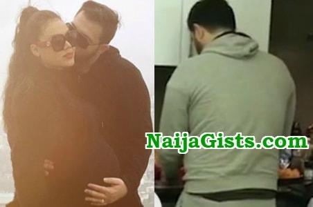 Husband and nadia buari More Photos