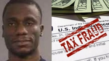 nigerian jailed tax fraud us