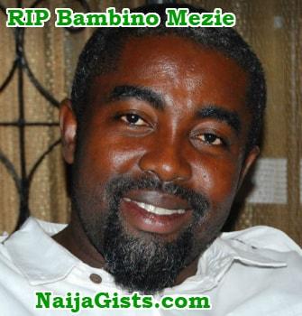 nollywood actor dies sleep surulere lagos