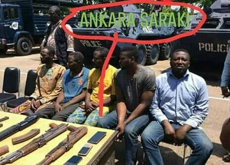 offa bank robbery suspects saraki thugs