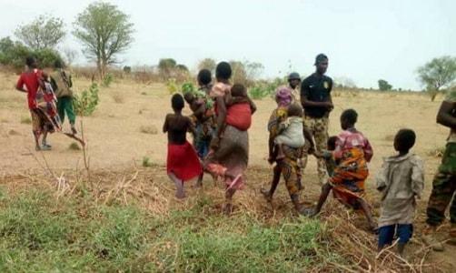 pregnant girls rescued boko haram