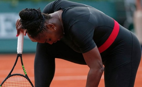serena williams pulls out french open arm injury