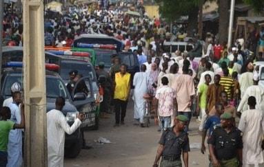 boko haram suicide bomber kills himself maiduguri