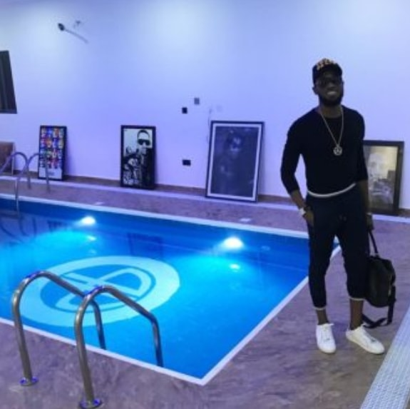 the indoor swimming pool where dbanj son drowned