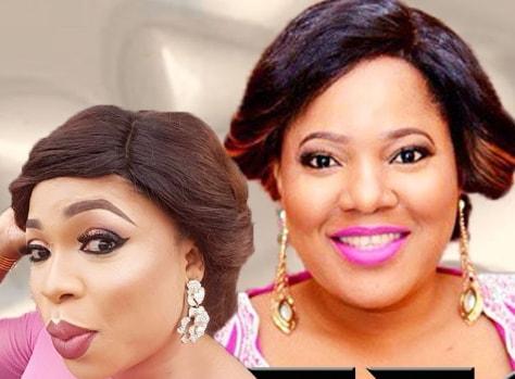 nollywood stars war mercy aigbe toyin aimakhu