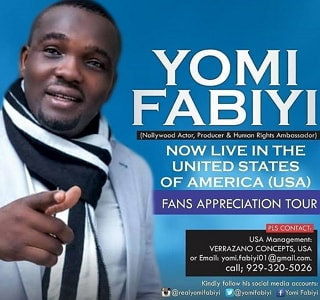yomi fabiyi fans appreciation tour america