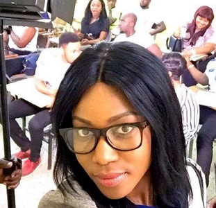 yvonne nelson audition accra ghana