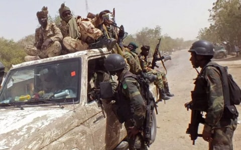 23 nigerian soldiers missing borno