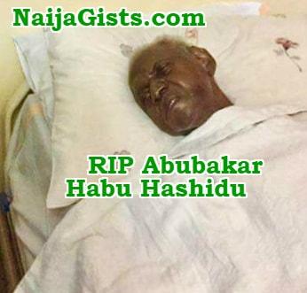 Abubakar Habu Hashidu dead
