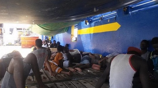 african migrants stranded in tunisia